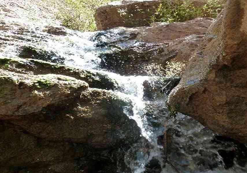 آبشار چهار تکاب