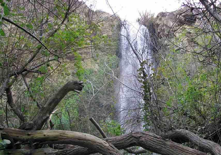 آبشار آبگرم کلات