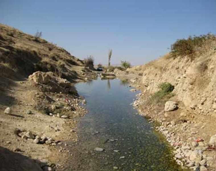 چشمه آب گرم مهمانک