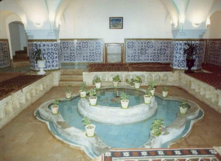 حمام پهنه و گرمابه حضرت سمنان