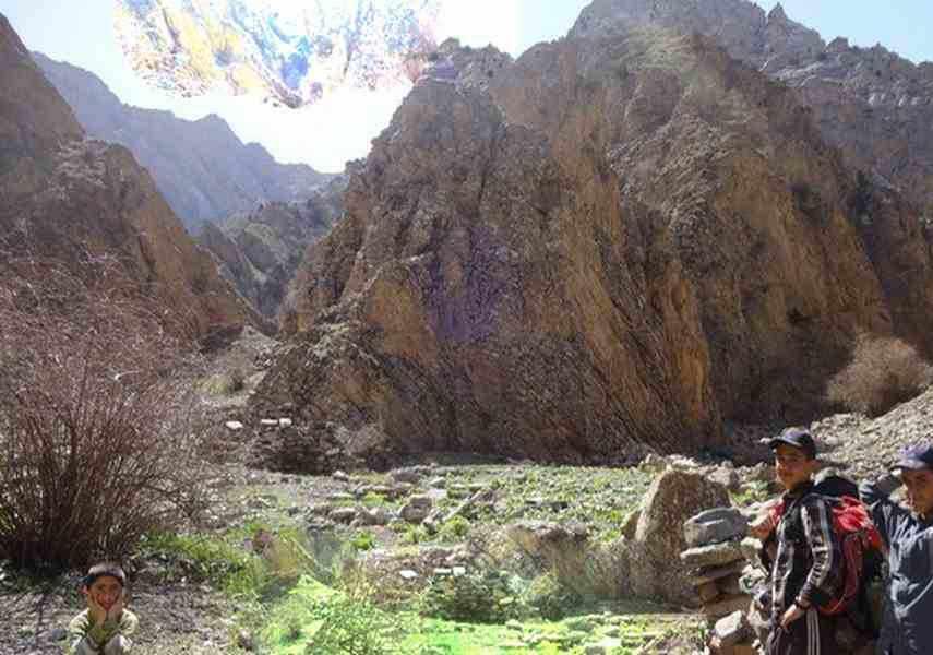 آبشار روستای چرم کهنه (قورکن)