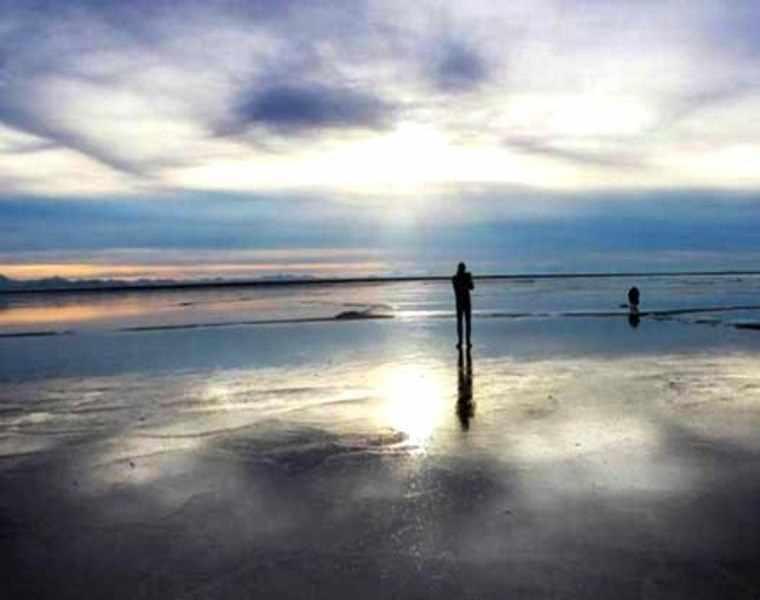 دریاچه مخرگه، بزرگترین آینه طبیعی ایران