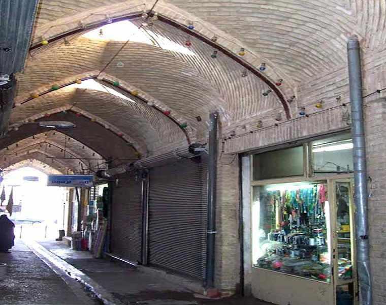 بازار قدیمی شاهرود