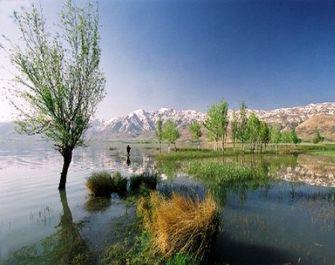 تالاب بین المللی چُغاخور، یکی از زیباترین تالاب های ایران