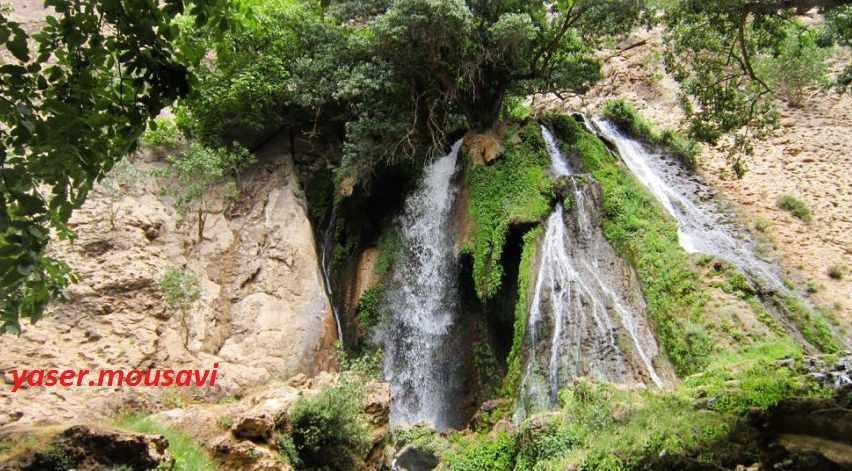 آبشار آتشگاه، طولانی ترین آبشار ایران، آبشاری مینیاتوری