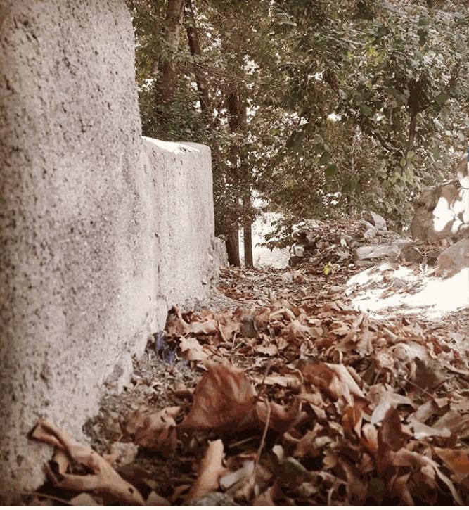 چم طاق از روستاهای باغ بهادران