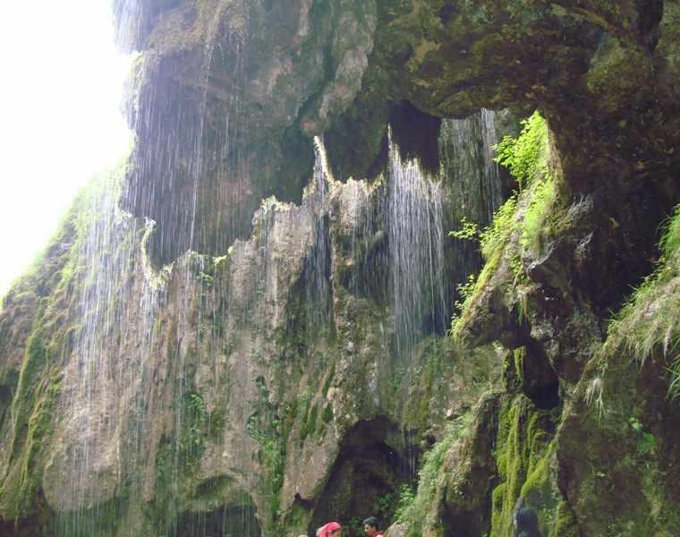 آبشار باران کوه