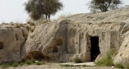 گورستان باستانی خارک، گورستان زرتشتیان و مسیحیان