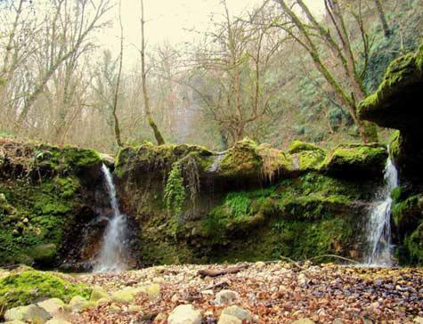 آبشار رنگو، آبشار دایره ای گرگان