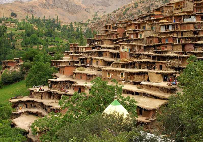 روستای اسفیدان یا اسپیدان، ماسوله شرق ایران