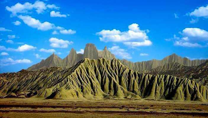 کوه های مریخی یا مینیاتوری چابهار