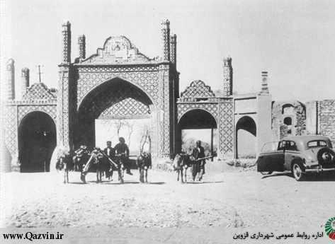 دروازه های قزوین، ورودی های تاریخی