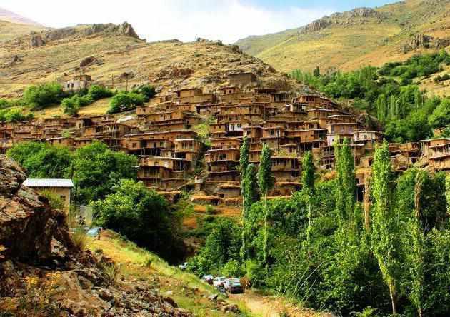 روستای شیلاندر زنجان