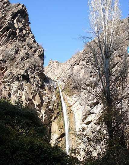 آبشار سرخه میشه