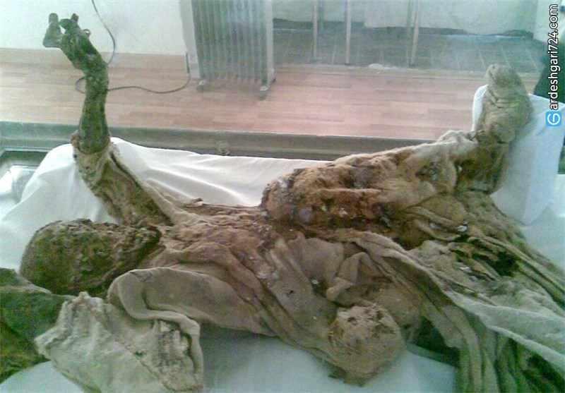 مردان نمکی، مومیایی های چند هزار ساله