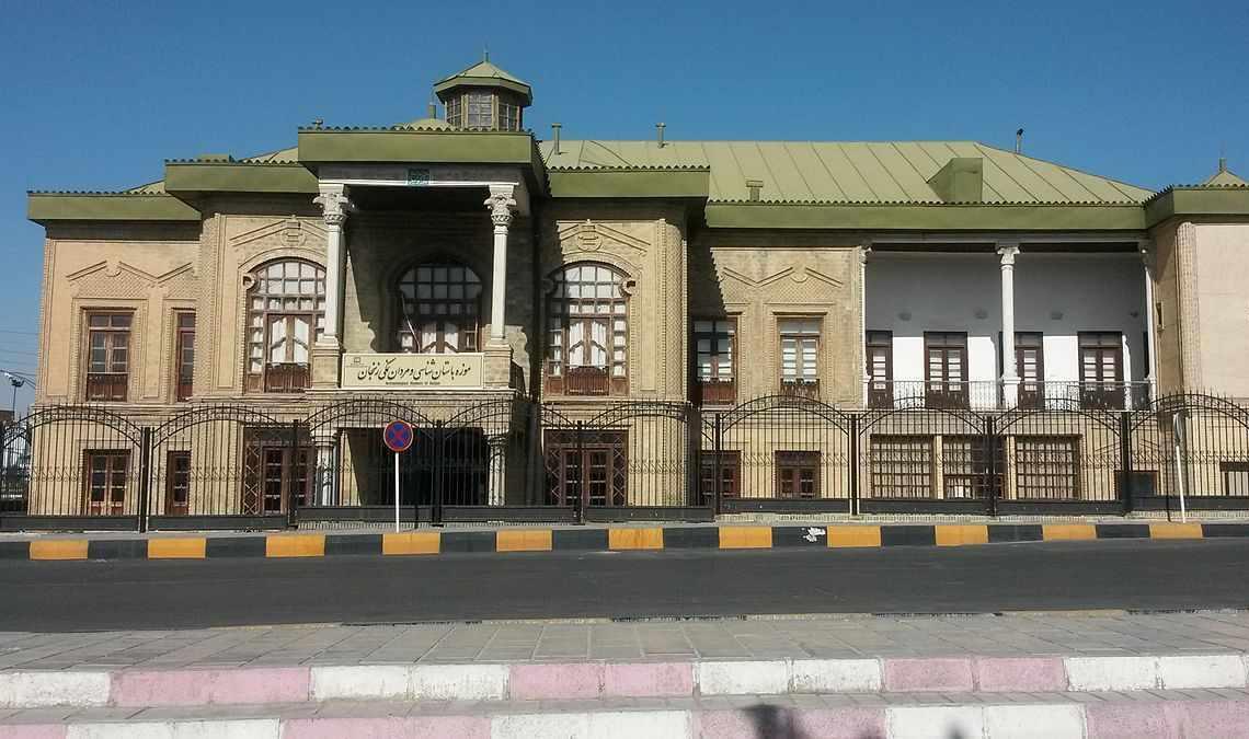 عمارت ذوالفقاری زنجان، موزه باستان شناسی زنجان