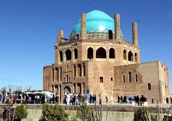 ارگ سلطانیه، بلندترین گنبد آجری جهان و یادگار ایلخانان