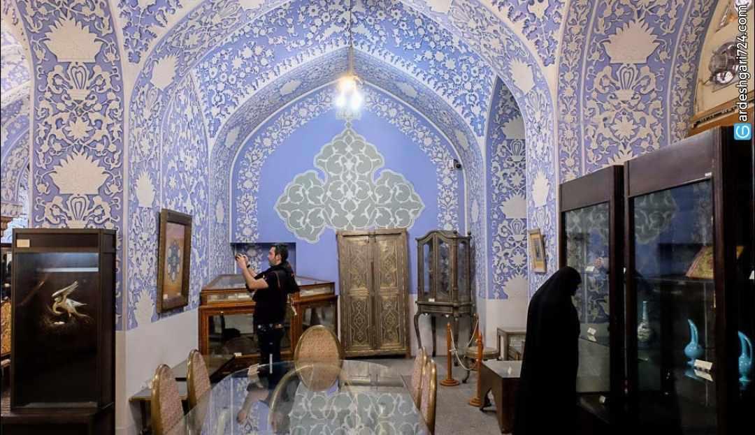 موزه زیبای هنرهای ملی ایران یا حوضخانه باغ گلستان