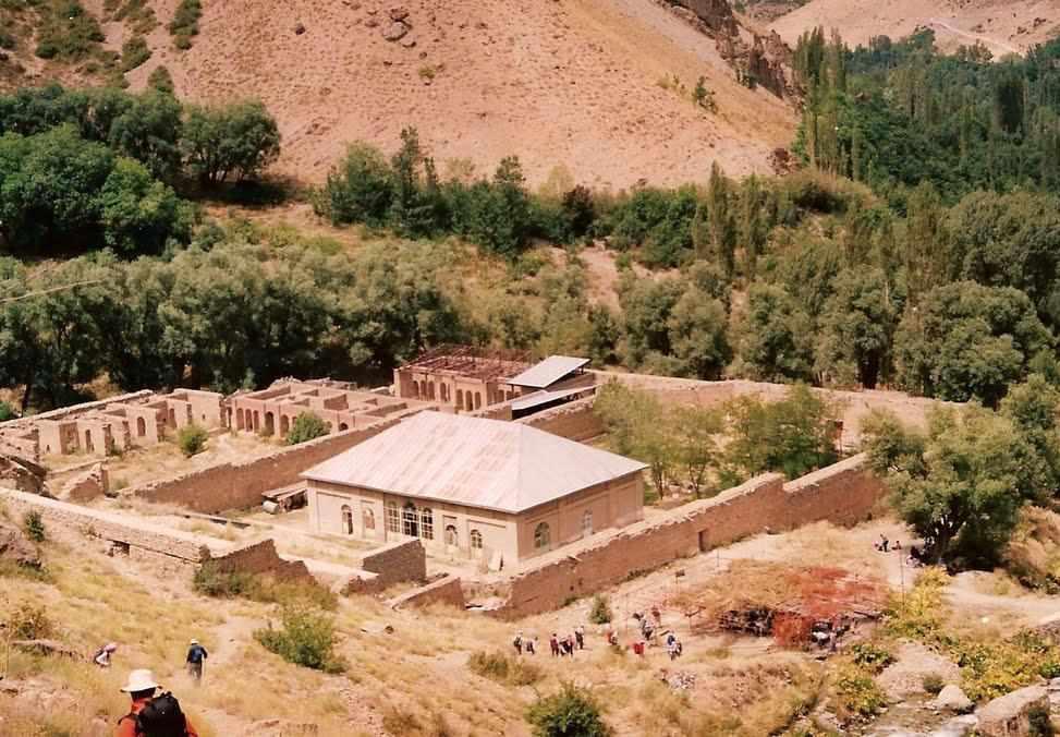 کاخ ناصری، محل اقامت ییلاقی ناصرالدین شاه
