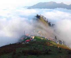 ییلاقات اولسبلنگاه، فرشی از جنس ابرهای خیال