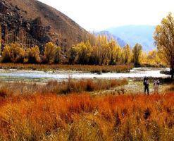 روستای هرانده فیروزکوه، چشم اندازی زیبا از طبیعت