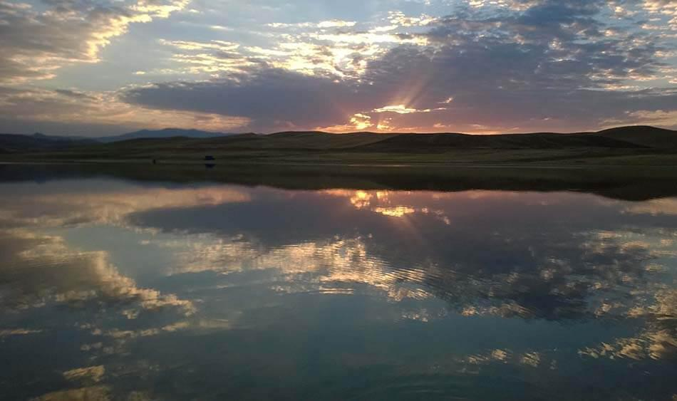 دریاچه پری، نگینی در دشت های ماهنشان