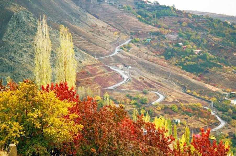 روستای امامه، روستایی در میان کوه ها
