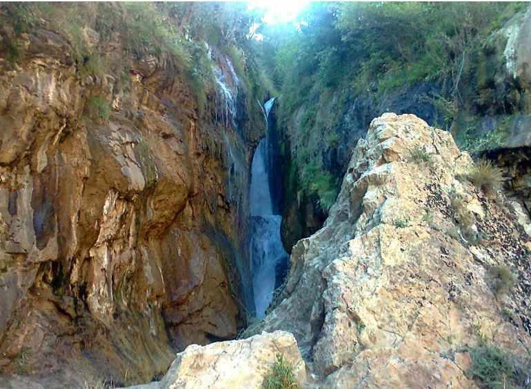 آبشار گل آخور ورزقان، گل آخیر