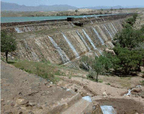 سد سلامی، منطقه زیبای گردشگری خواف