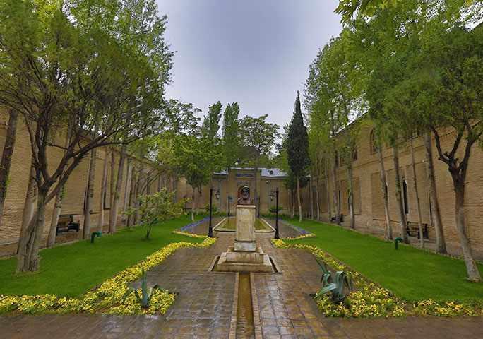 باغ نگارستان، تجربه آرامش حافظیه