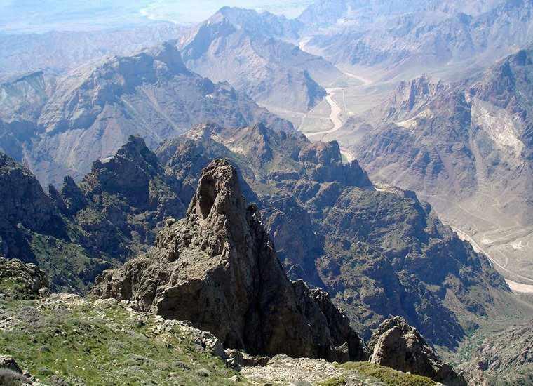 پارک ملی کنتال، پارکی در مرز ارمنستان و جمهوری آذربایجان