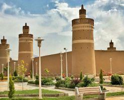 ارگ شیخ بهایی، هفت برج خارون
