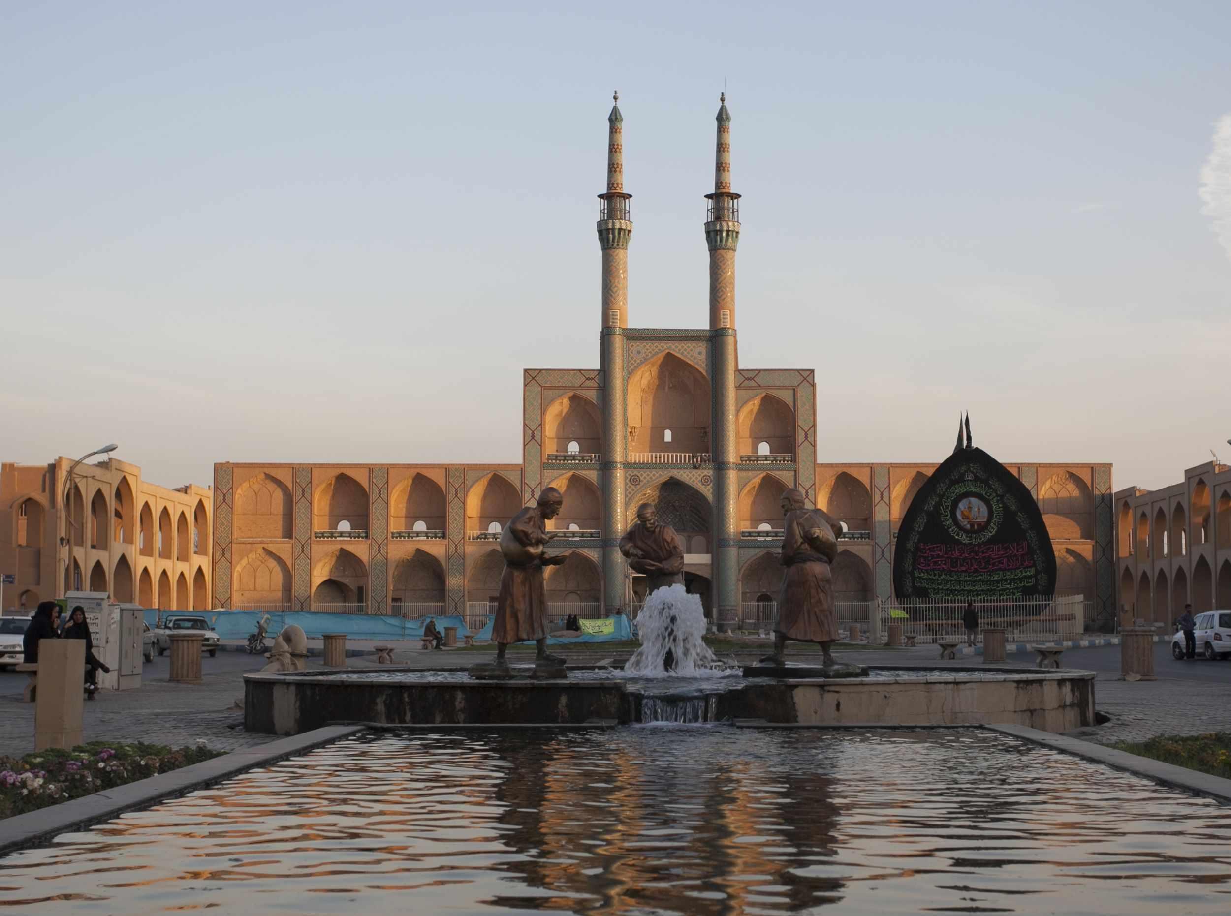 میدان امیر چخماق یزد، نماد باستانی ترین شهر ایران