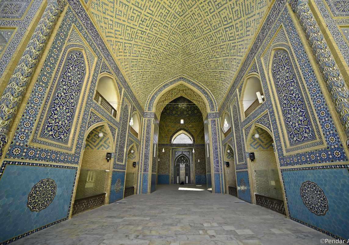 مسجد جامع یزد، هنر ناب ایرانی اسلامی