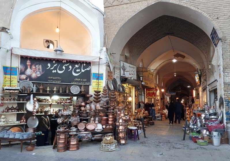 بازار زرگری یزد، جاذبه تاریخی و جلوه اقتصادی