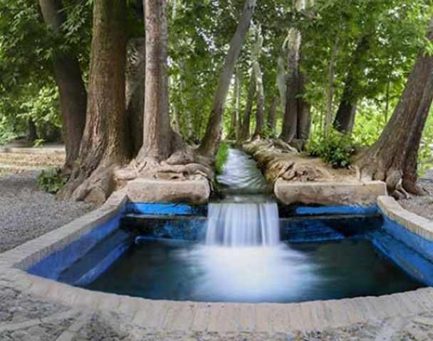 باغ پهلوان پور مهریز، معماری تماما اصیل ایرانی
