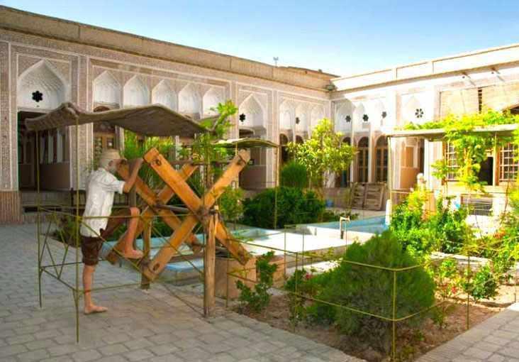 موزه آب یزد، محل تلاقی دو قنات اصلی شهر