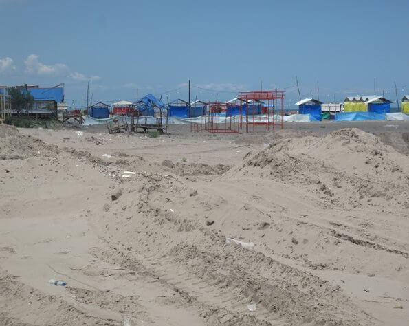 منطقه ساحلی حاجی بکنده کجاست