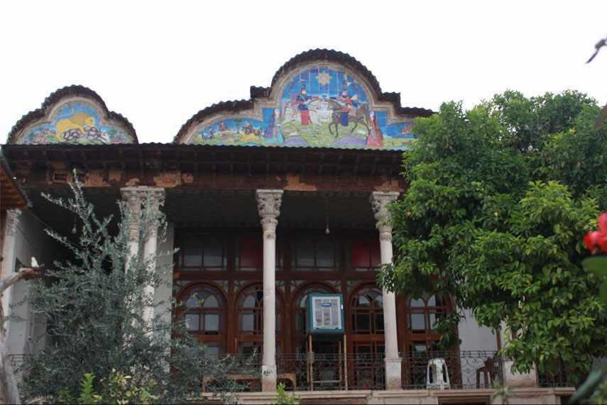 موزه خاتم، خانه سعادت