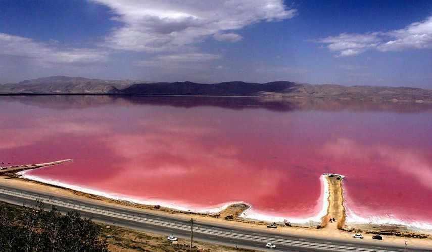 دریاچه مهارلو شیراز