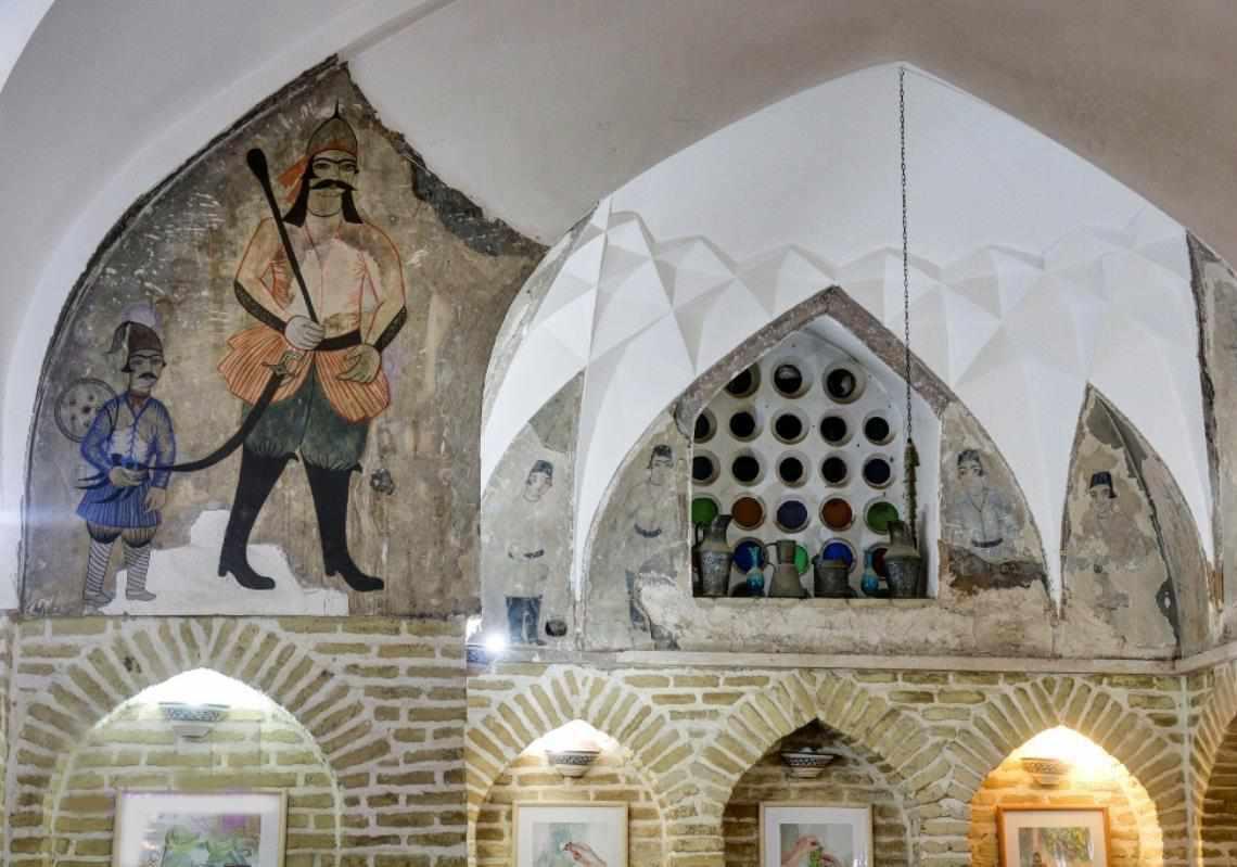 چایخانه حمام خان یزد