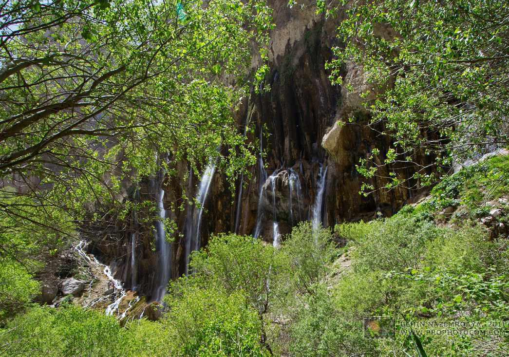 آبشار مارگون سپیدان