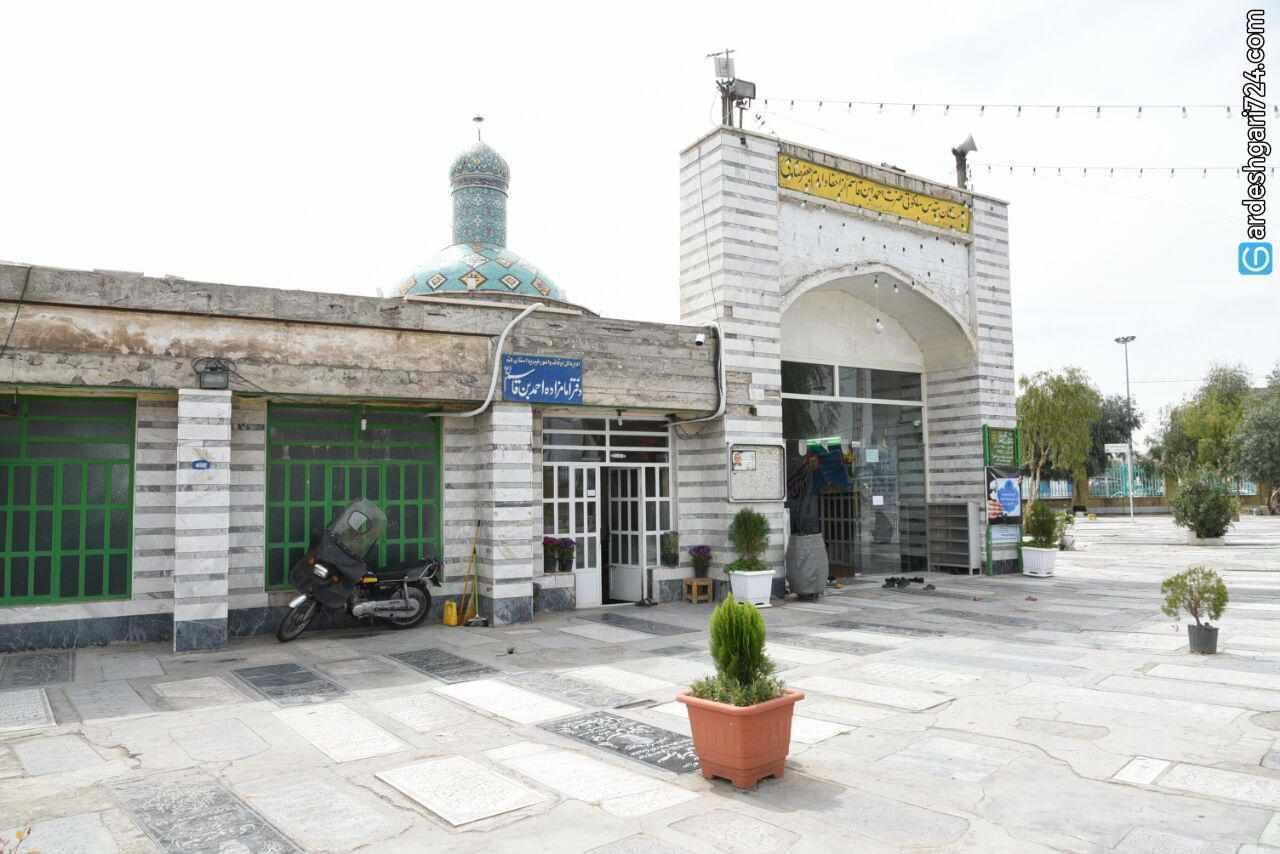 آرامگاه امامزاده احمد بن قاسم، تجلی فرهنگ و هنر