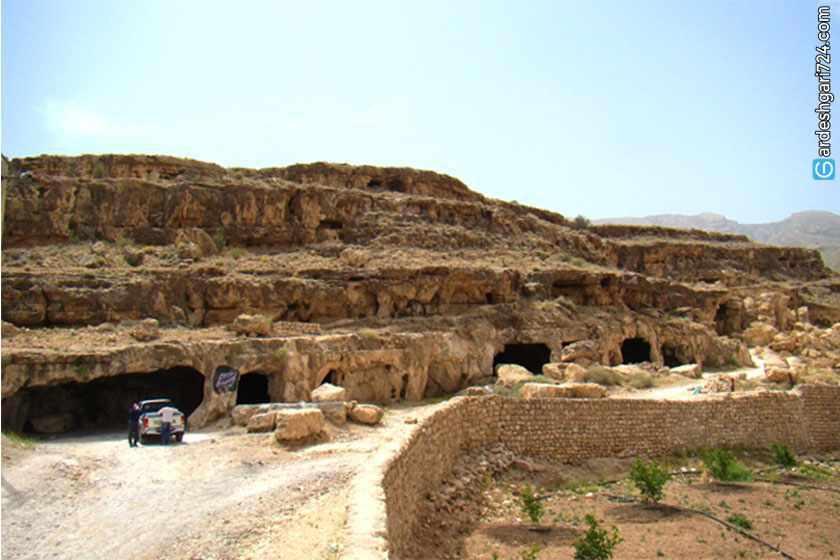 غار سنگ تراشان جهرم