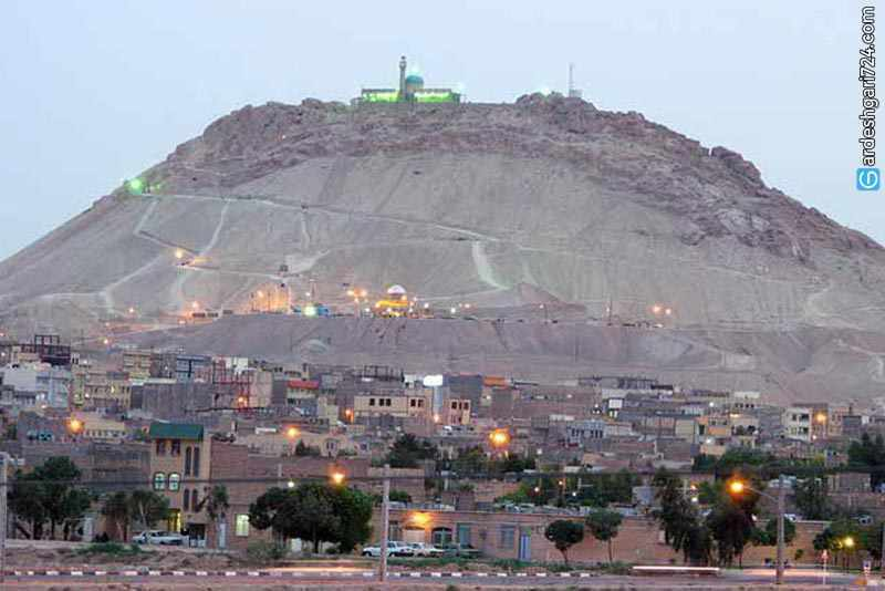 کوه خضر نبی، خلوتگاه عاشقان و عارفان