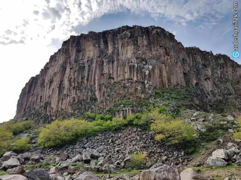 دره منشورهای بازالتی بدولی