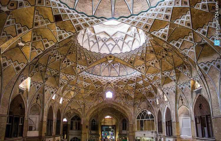 بازار قدیم قم، صاحب بزرگ ترین سقف ضربی در کشور