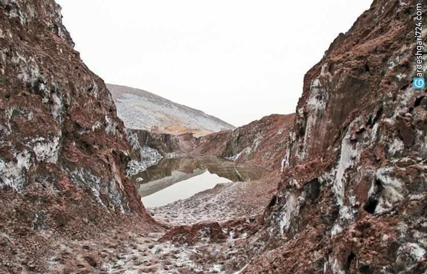 گنبد نمکی، بزرگ ترین گنبد نمکی ایران