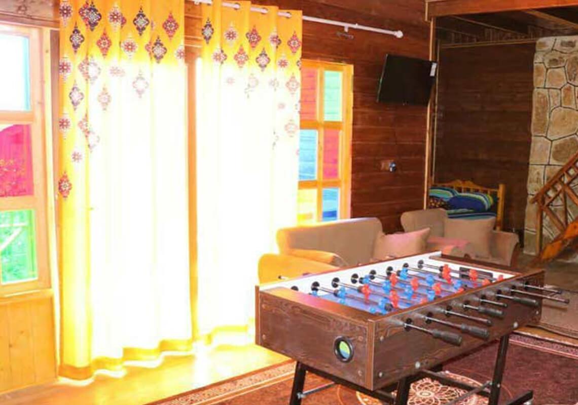 کلبه چهار نفره دنیز در سوادکوه