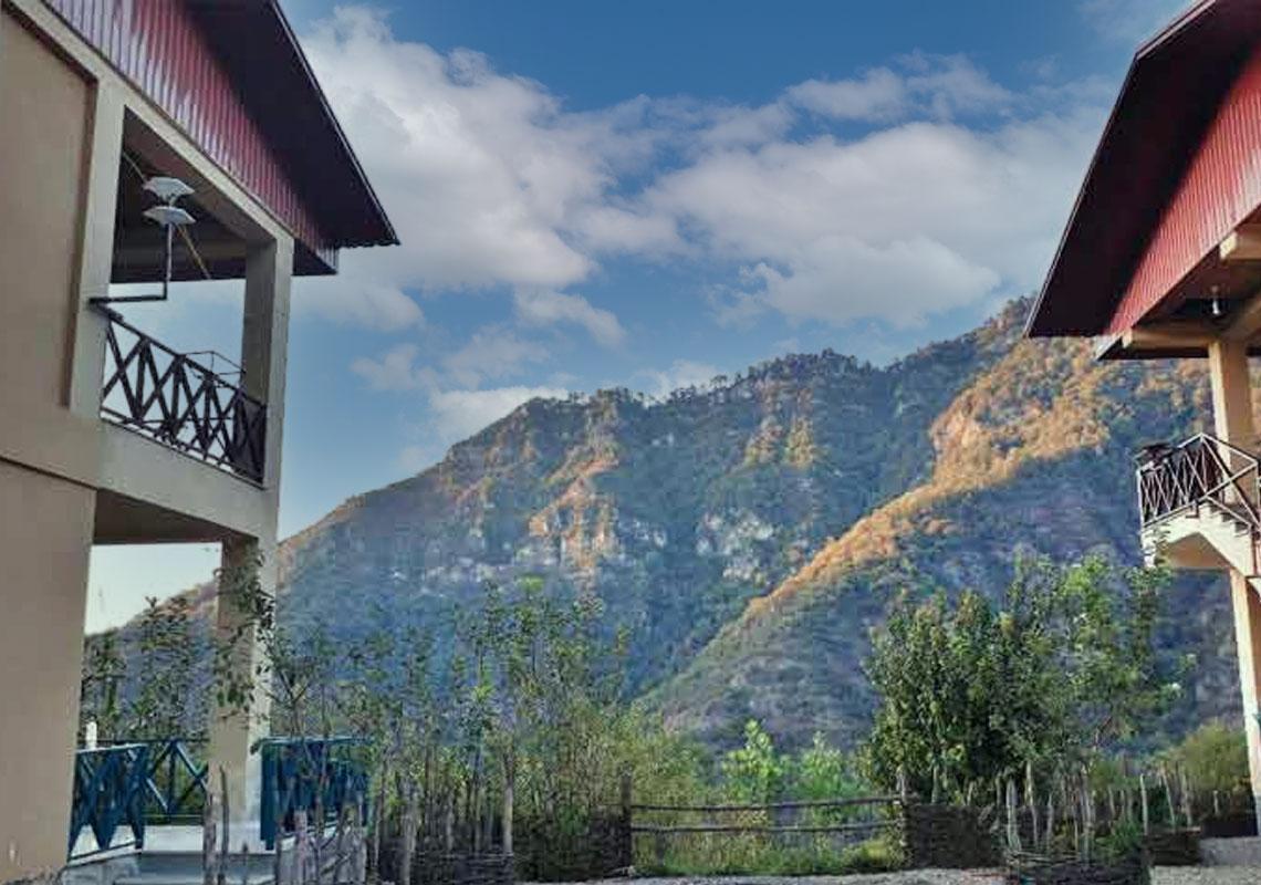 اقامتگاه بومگردی ریگ چشمه علی آباد کتول